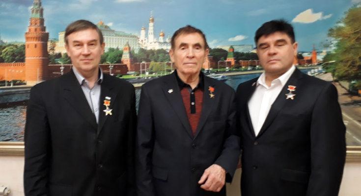 О.Ю.Кассин, А.Г.Лёвин и А.И.Рязанов
